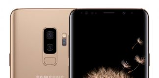 samsung galaxy s9 Sunrise gold